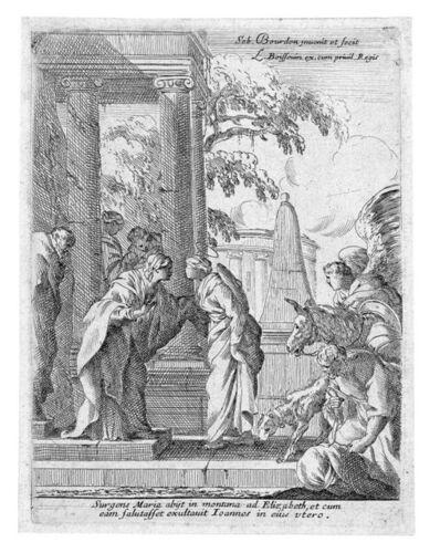Sébastien Bourdon, 'The Visitation', 17th Century