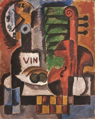 Augusto Torres, 'El violín', 1935