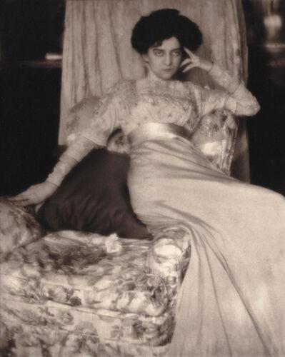 Alvin Langdon Coburn, 'Miss Anderson', 1912