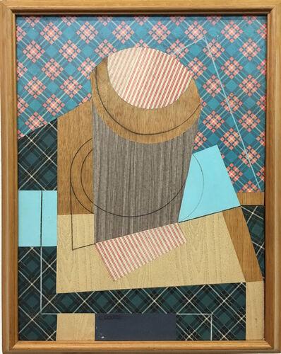Carlos Rojas, 'Bodegon con vaso', 1960