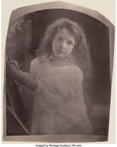 Julia Margaret Cameron, 'Retrato De Crinca (Child In White Dress)', Late 19th centruy