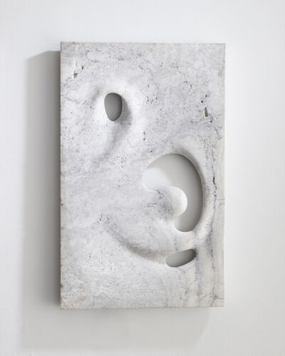 Rogan Gregory, 'Illuminated wall sculpture in hand-carved white travertine. ', 2016