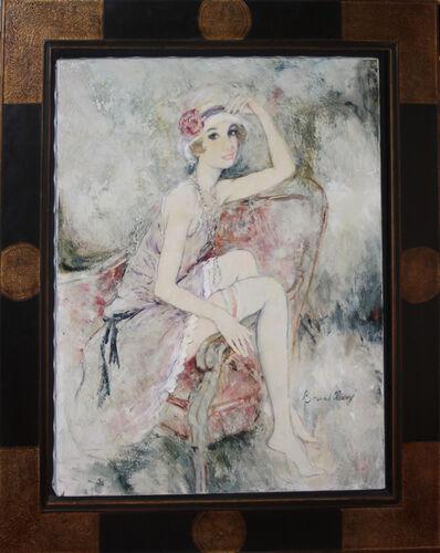 Bernard Charoy, 'Valéria a la Jarretiére Rose', 1975-1985