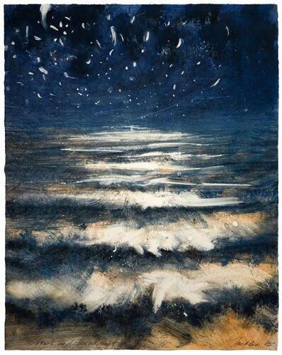 Bill Jacklin, 'Stars and Sea at Night VII', 2015