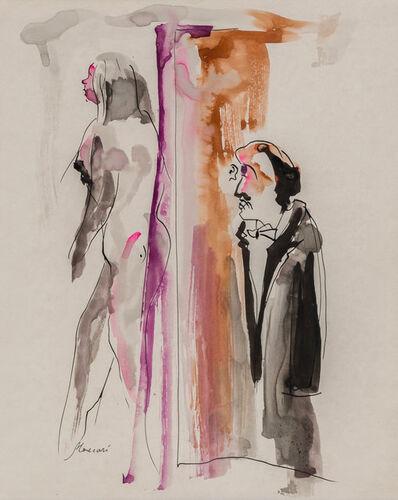 Mino Maccari, 'Figure'