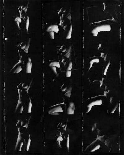 Peter Basch, 'untitled contact sheet (030 A)', ca. 1960