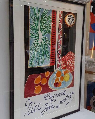 Henri Matisse, 'Nice - Travail et Joie', 1947