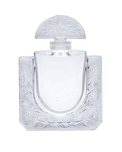 """Lalique, 'A """"Chevrefeuille Factice"""" art glass perfume bottle'"""