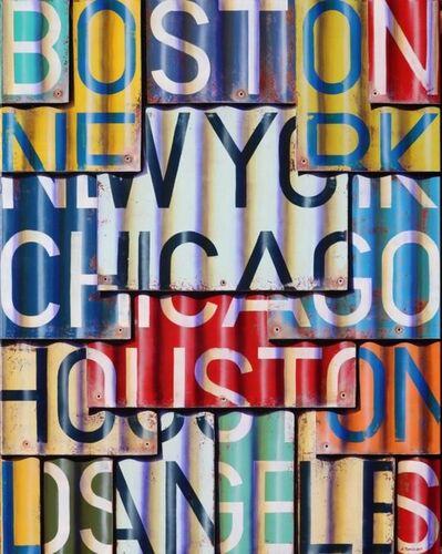 Ross Tamlin, 'Boston to Los Angeles', 2017