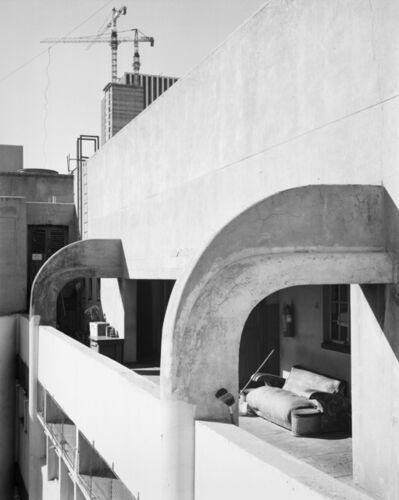 David Goldblatt, ''Location in the sky': the servants' quarters of Essanby house. Jeppe Street, Johannesburg. 4 April 1984.', 1984