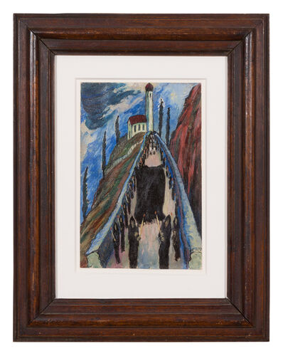 Marianne von Werefkin, 'Die Prozession', 1920