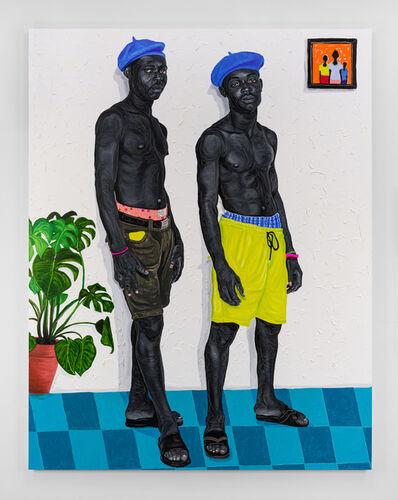 Otis Kwame Kye Quaicoe, 'Beret Boys', 2021