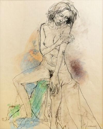Jean Jansem, 'La pose', 1980-2010