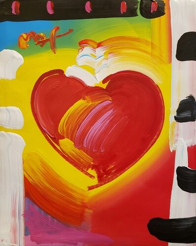 Peter Max, 'Heart', 2008