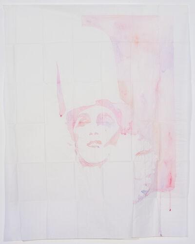 Ulla von Brandenburg, 'Ohne Titel (Clown, mit Zylinder)', 2006