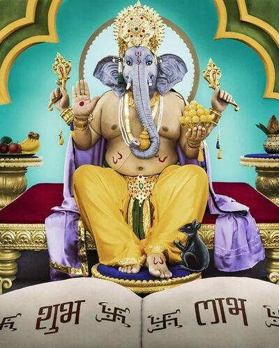 Manjari Sharma, 'Lord Ganesha', 2011