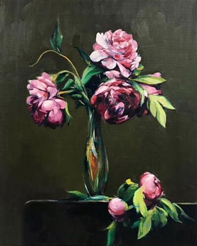 Sam McKinniss, 'Peonies (after Fantin-Latour)', 2017