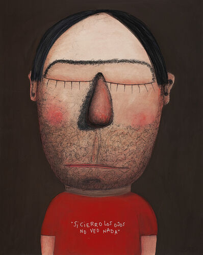 Moisés Yagües, 'If I Close My Eyes I Don't See Anything', 2021