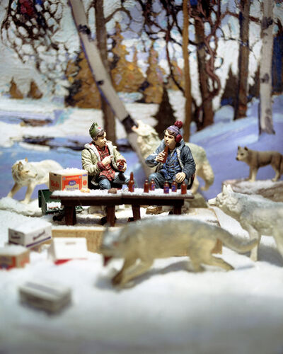 Diana Thorneycroft, 'Group of Seven Awkward Moments (Early Snow with Bob an Doug)', 2005