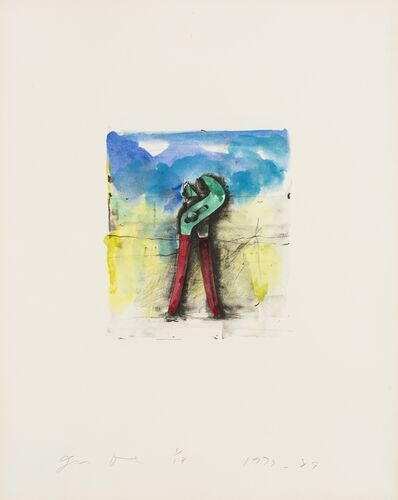 Jim Dine, 'From 'Ten Hand-Colored Winter Tools II' (Carpenter 32.5)', 1973-89