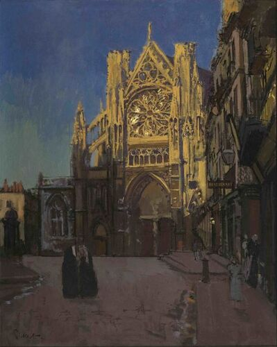 Walter Richard Sickert, 'The Façade of St Jacques', 1902