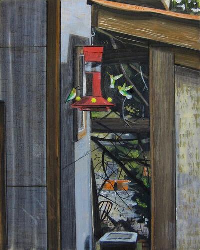 Alexander Rohrig, 'Hummingbirds at the Feeder'