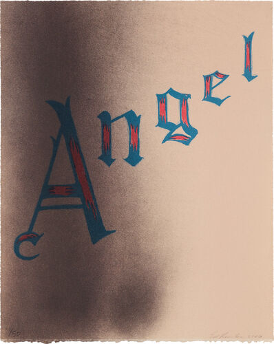 Ed Ruscha, 'Angel', 2006