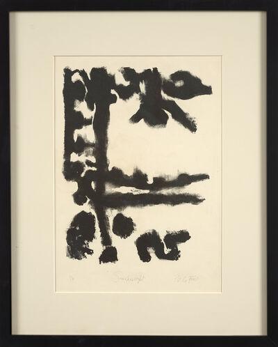 Perle Fine, 'Smokescript', 1950