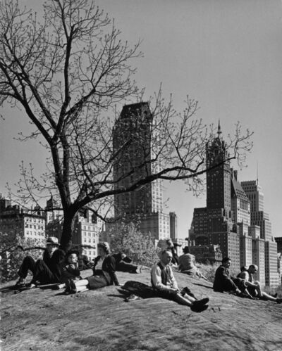 Andreas Feininger, 'New York, Central Park', 1940