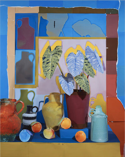 Daniel Gordon, 'Still Life with Oranges, Vessels, and House Plant', 2016