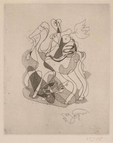 Georges Braque, 'THÉOGONIE (VALLIER 20 g)', 1932