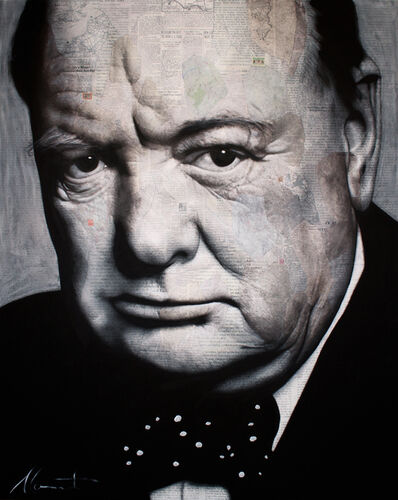 André Monet​, 'Churchill', 2018