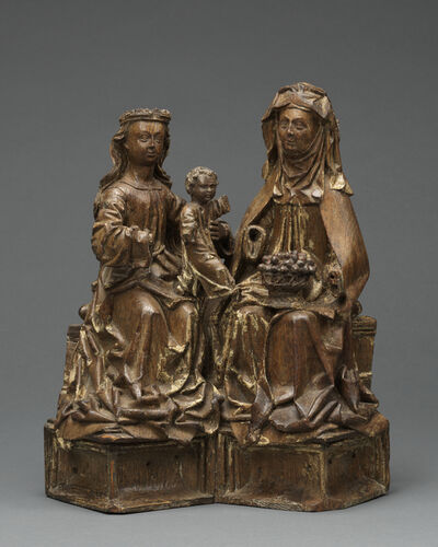 Unknown Flemish, 'Anna Selbdritt', ca. 1500 – 1520