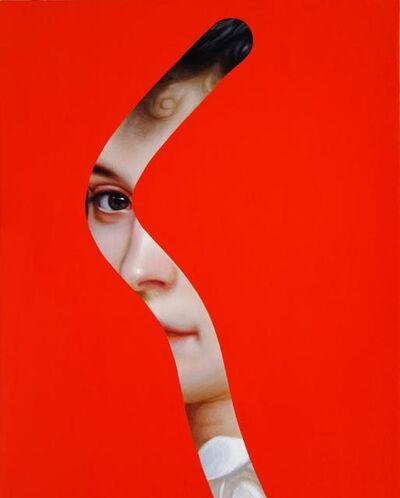Lino Lago, 'Fake Abstract (on Bouguereau)', 2018