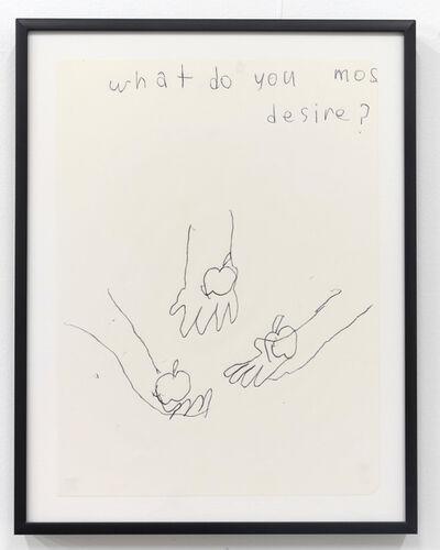 Emilie Gossiaux, 'What Do You Most Desire', 2018