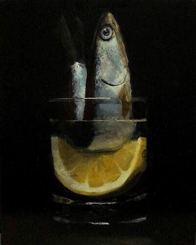 Tom Giesler, 'Floral 46: anchovy lemon', 2021