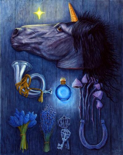 Amir Kerr, 'Black Unicorn', 2017