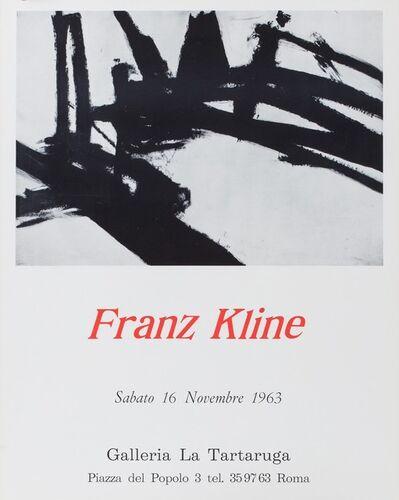 Franz Kline, 'Franz Kline', 1963