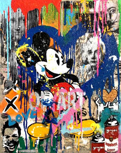 Yuvi, 'Mickey Mouse', 2018