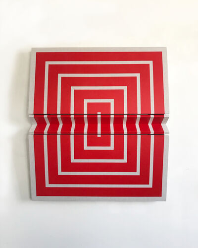 Robert William Moreland, 'Untitled Red Concentric', 2018