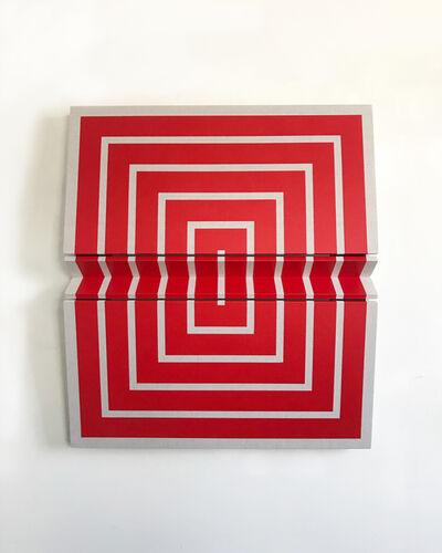Robert William Moreland, 'Untitled Red Concentric', 2018