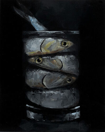 Tom Giesler, 'Floral 51: anchovies', 2021