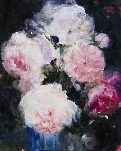 Darlene Cole, 'Love Notes (roses + peonies at midnight)', 2020