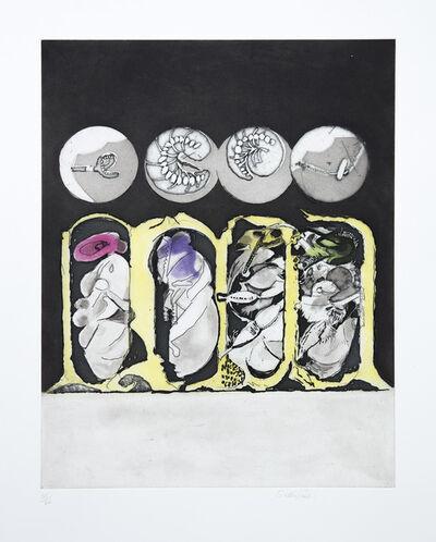 Graham Sutherland, 'Metamorphosis: Egg, Larvae, Pupae', 1976-1977