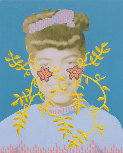 Daisy Patton, 'Untitled (School Days 1948-9 Orchard Knob [bow])', 2018