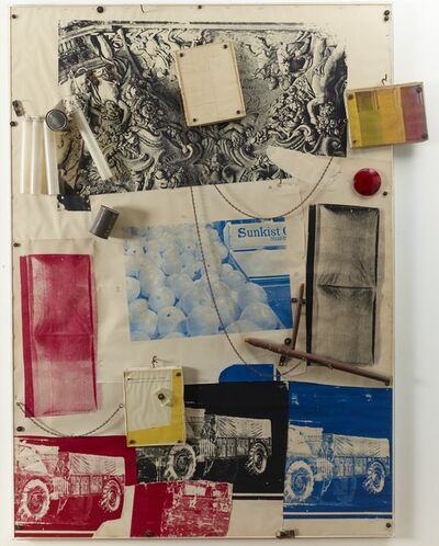 Robert Rauschenberg, 'Sleep for Yvonne Rainer', 1965