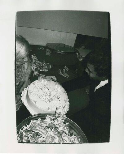 Andy Warhol, 'Self-Portrait with Birthday Cake', c. 1976-1979
