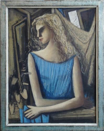 """Horst Strempel, '""""Mädchen am Fenster""""', 1958"""