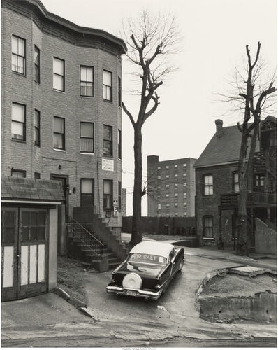 George Tice, 'Car for Sale, Cliff Street, Patterson, NJ', 1969