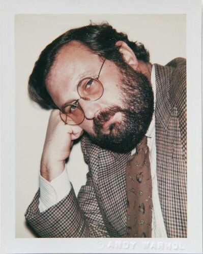 Andy Warhol, 'Andy Warhol, Polaroid Photograph of Gianfranco Ferré, 1980', 1980